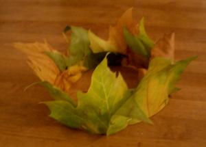 Herbst-Prinzessinnen-Krone