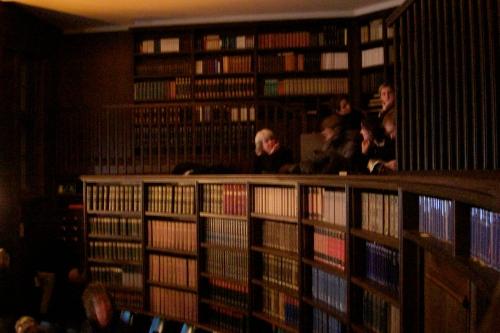 Lesesaal im Warburg-Haus fotografiert von Kixka ohne Blitz